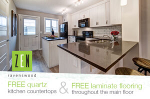 ZEN Ravenswood - Free Quartz Countertops Upgrade