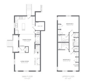ZEN Ravenswood in Airdrie - Duches Floorplan