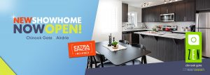 New show home now open in Airdrie.
